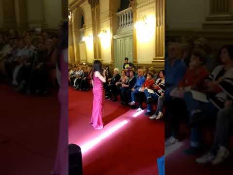 Exitoso concierto de la orquesta municipal de Tango con la voz de Mónica Romano