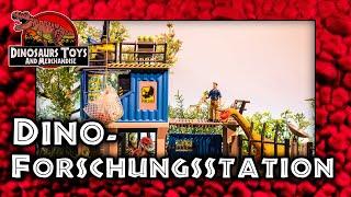 Schleich  Große Dino - Forschungsstation - 41462 Unboxing & Review Deutsch / German