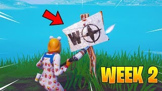 Fortnite Week 2 Visit The Furthest North South East And West Points