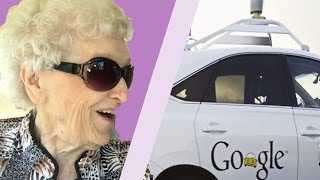 old people ride in google 39 s self driving cars for the. Black Bedroom Furniture Sets. Home Design Ideas