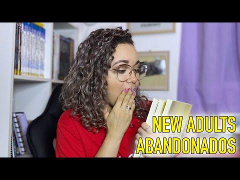 NEW ADULTS ABANDONADOS NA MINHA ESTANTE