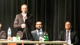 Spotkanie przedwyborcze w Dukli- Jan Dembiczak (3)