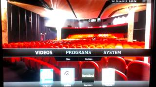 Customized Windows 7 Media Center integrated with XBMC