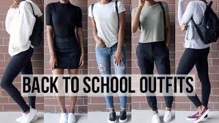 Back To School Outfit Ideas 2017 | Kianna Naomi