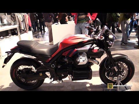 2015 Moto Guzzi Griso 1200 8V - Walkaround - 2014 EICMA Milan Motorcycle Exhibition