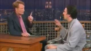 Borat on Conan O'Brien Show (07-14-04)