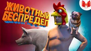 GTA 5 Roleplay - Животный беспредел