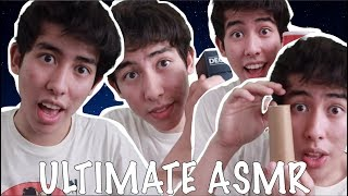 ULTIMATE ASMR 1 HOUR (Tapping, Tingles, Mouth Sounds, Light Triggers...)