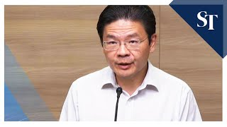Lawrence Wong on foreign worker Covid-19 cases: We will do our very best to take care of them