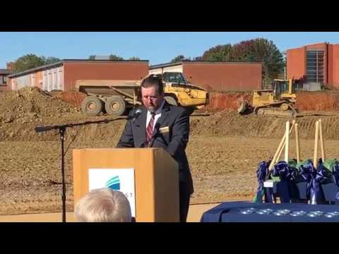 Video: Rowell speaks about new Technical Education Complex