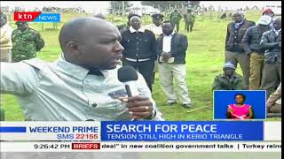 Search For Peace: Tension still high in Kerio Valley