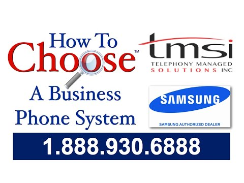Vancouver Business Phone Systems TMSI Education Channel - How to use Samsung VoIP Phones