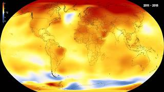 Global temperature anomalies from 1880 to 2017 | Kholo.pk