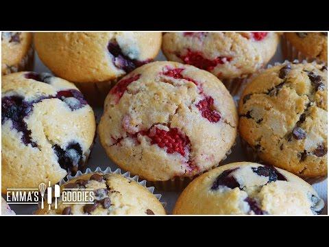 Muffin Recipe – Create Different Flavors Using 1 Recipe