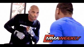 Anderson Silva: Full UFC 234 Pre Fight Workout From Los Angeles