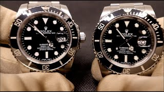 REAL vs FAKE ROLEX - SUBMARINER 116610 LN