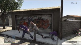 GTA 5 - Baseball Bat Bashing