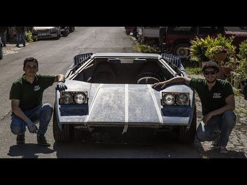 Countach Replica v6 Turbo (9° parte) - Davide Cironi Drive Experience (ENG.SUBS)