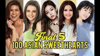 Final Five of 100 ASIAN SWEETHEARTS 2018 Revealed!