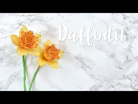 How to create your own paper Daffodil - Sizzix