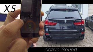 Active Sound: BMW X5 (F15) und BMW X6 (F16) M50d - Soundbooster