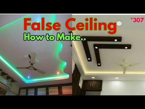 False Ceiling || False Ceiling Installation || POP False Ceiling | Gypsum False Ceiling Installation
