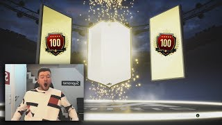 FIFA 19: ICON in 30-0 (TOP 100) PACKS REWARDS 🔥🔥