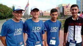 Uzbek team IOI 2016 in Kazan Russia