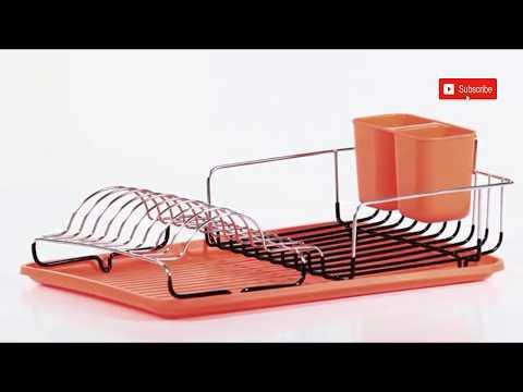 ✓✓Los 5 mas novedosos escurridores de platos de acero inoxidable para organizar tu cocina👌👌