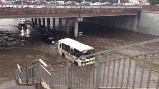 Набережные Челны потоп 17.07.2018. 30 комплекс