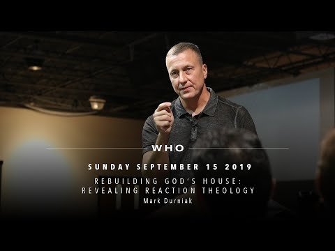 Rebuilding God's House: Revealing Reaction Theology