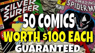 50 Comic Books Worth $100 or More GUARANTEED!!! - Do You Have These Comics ?