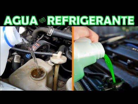 Que Pasa si Ponemos Agua en Vez de Refrigerante? (sistema de enfriamiento del motor)