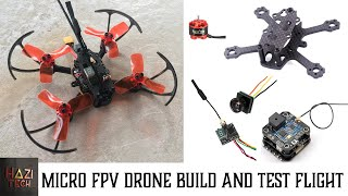 X2 ELF 88mm Micro Brushless Drone Build Video And Maiden Flight