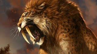 Saber Tooth Tiger | Ice Age Prehistoric Mammals | Science Documentary 2019