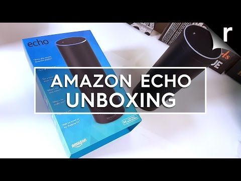Amazon Echo unboxing & first look review (UK Model)