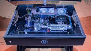 Smallest Desk PC Yet!! - Vector Desk Mini Review