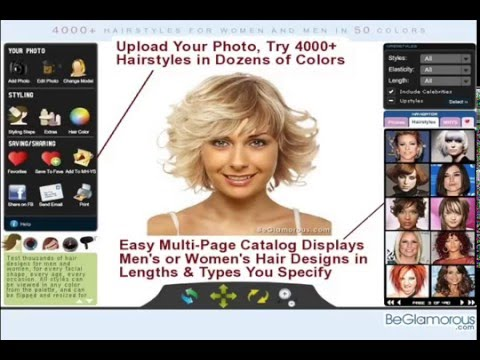 Sensational Search Result Youtube Video Try A New Hairstyle Online Short Hairstyles Gunalazisus