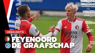 DESSERS en JOHNSEN bepalend, debuut NELSON! ?   Feyenoord - De Graafschap   Friendly 2021-2022