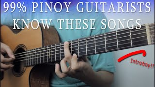 Every Pinoy Guitarists Know These Songs