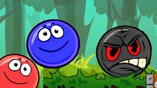 Красный Шарик И СИНИЙ ШАР Братишка - Red Ball только для детей!