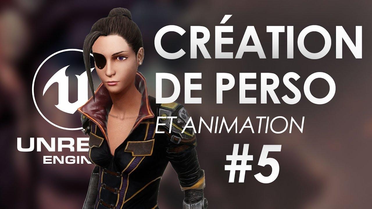 Gestion de la caméra - Rotation autour du perso - Unreal Engine 4 Tuto FR