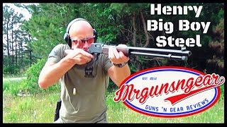 Henry Big Boy Steel Lever Action Rifle Review (HD)