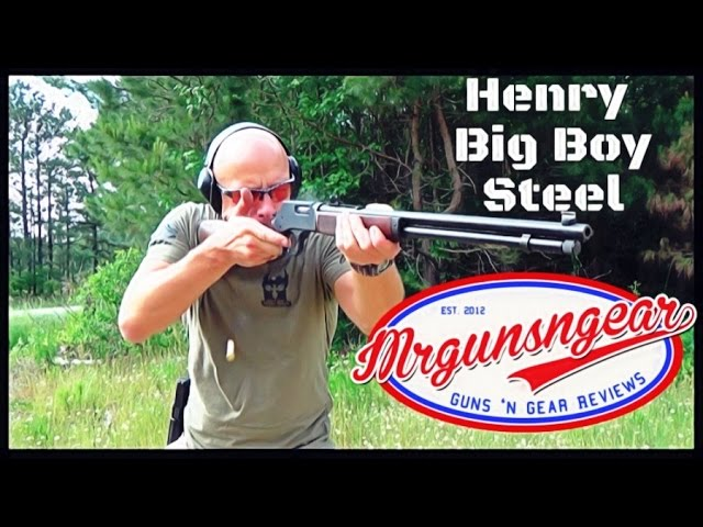 Henry Big Boy Steel Lever Action Rifle Review