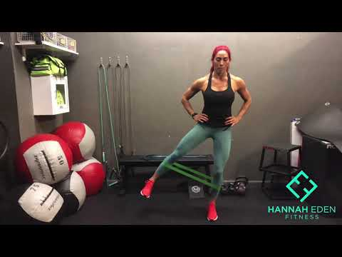 Standing Banded Leg Abduction