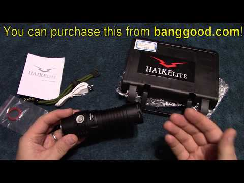 Haikelite SC01 Flashlight Review!