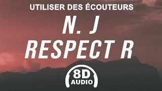 Damso   N. J Respect R (8D AUDIO) 🎧