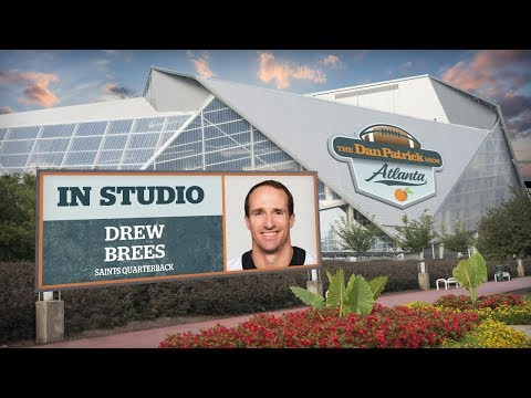 Drew Brees Talks Officiating, Goodell, Retirement & More w/Dan Patrick | Full Interview | 2/19/9