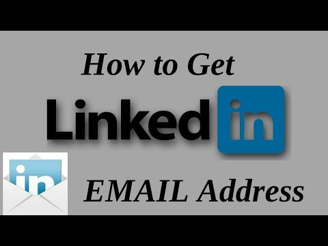 How to get linkedin email address 2018