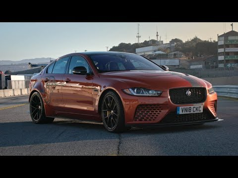 Fastest Production Sedan In The World? Jaguar XE SV Project 8 At Laguna Seca Mp3